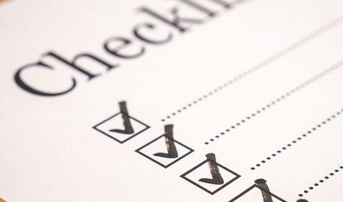 ファクタリング申込前のチェックリスト