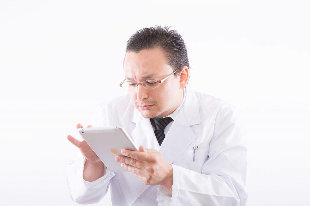 白衣の医者