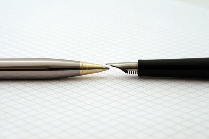 二つのペン