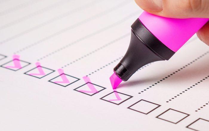 信用調査のチェックリスト