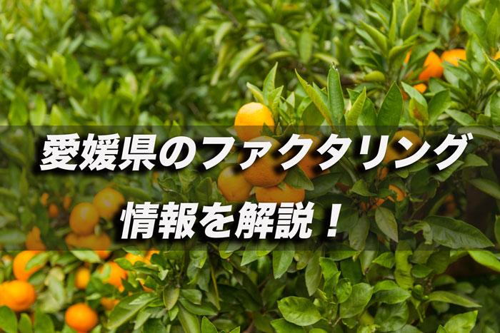 愛媛県のファクタリング
