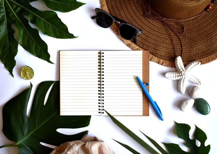 夏と文房具