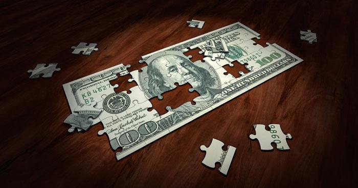 お金のパズル