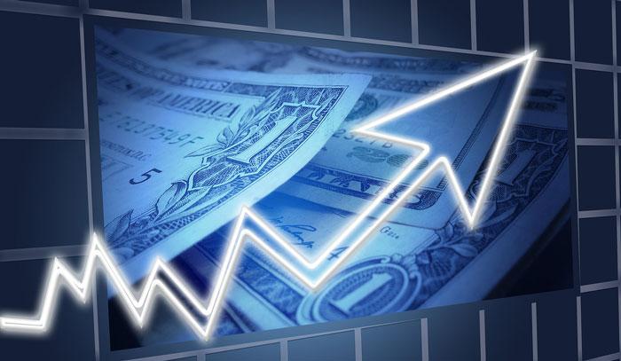 銀行融資のグラフ