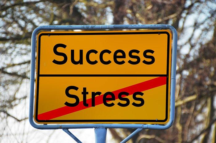 successの看板