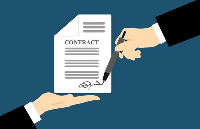 債権譲渡禁止特約付きの契約書
