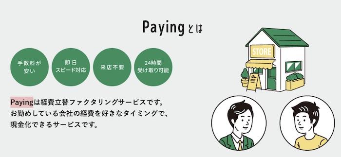 Payingとは