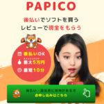 PAPICO(パピコ) | 後払い(ツケ払い)現金化のご利用方法と宣伝報酬の仕組みを解説
